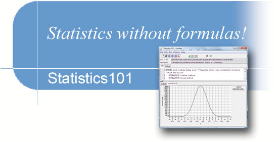 Statistics without formulas!